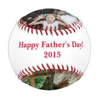 Béisbol de la foto del día de padre personalizado