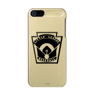 Béisbol de la liga pequeña carcasa de iphone 5 incipio feather shine