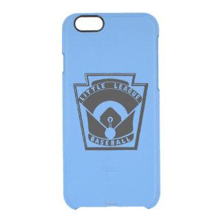 Béisbol de la liga pequeña funda clearly™ deflector para iPhone 6 de uncommon