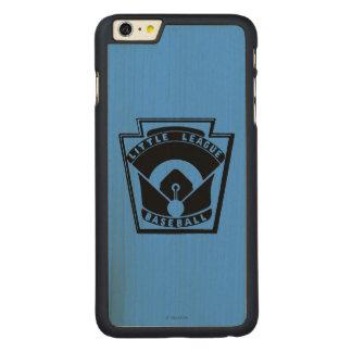 Béisbol de la liga pequeña funda de arce carved® para iPhone 6 plus