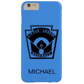 Béisbol de la liga pequeña funda para iPhone 6 plus barely there