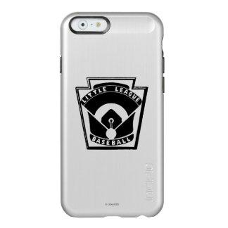 Béisbol de la liga pequeña funda para iPhone 6 plus incipio feather shine