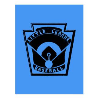 Béisbol de la liga pequeña tarjetas postales