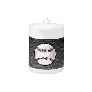 Béisbol de la mirada de la fibra de carbono
