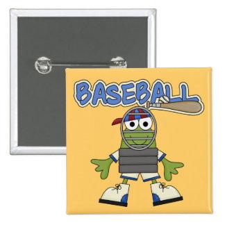 Béisbol de la rana - camisetas y regalos del pin