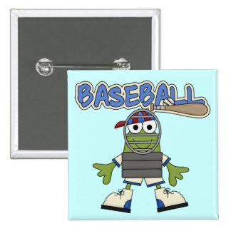 Béisbol de la rana - camisetas y regalos del pins