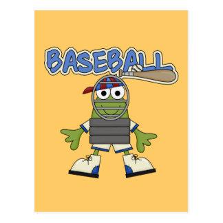 Béisbol de la rana - camisetas y regalos del postales