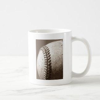 Béisbol de la sepia tazas