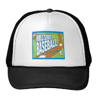 Béisbol de la serie de mundo gorro de camionero