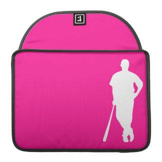 Béisbol de las rosas fuertes; softball funda macbook pro
