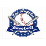 Béisbol de Los Ángeles Tarjeta Postal