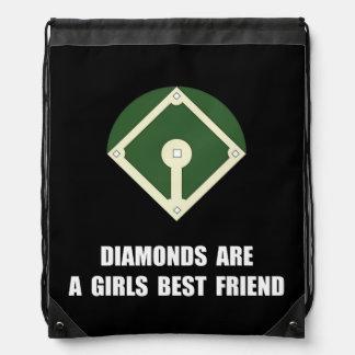 Béisbol de los diamantes mochilas