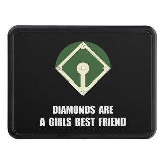 Béisbol de los diamantes tapas de remolque