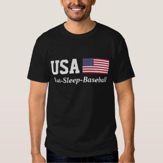 Béisbol de los E.E.U.U. Playera