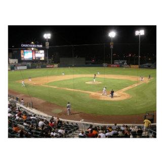 Béisbol de los grisáceos de Fresno Tarjeta Postal