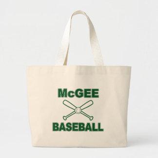 Béisbol de McGee Bolsa Tela Grande