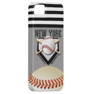 Béisbol de Nueva York iPhone 5 Carcasas