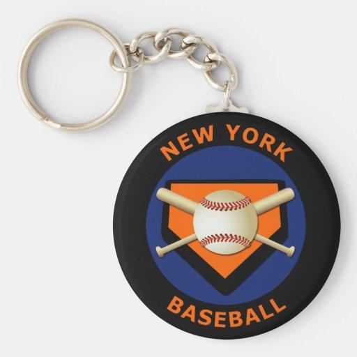 Béisbol de Nueva York Llavero