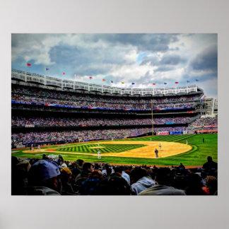 Béisbol de Nueva York - primera jornada Póster
