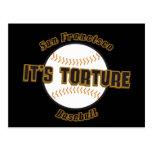 Béisbol de San Francisco es postal de la tortura