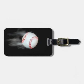 Béisbol de Smokin Etiquetas Para Maletas