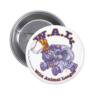 Béisbol de WAL Pin Redondo 5 Cm