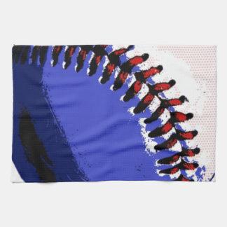 Béisbol del arte pop toallas de mano