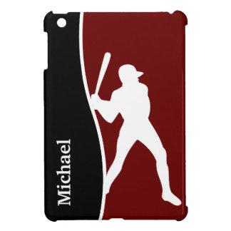 Béisbol del caso del iPad del monograma mini