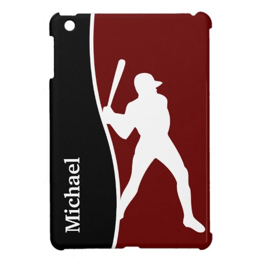 Béisbol del caso del iPad del monograma mini iPad Mini Cárcasas