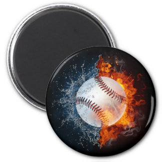 Béisbol del elemento imán redondo 5 cm