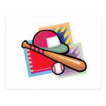 Béisbol del equipo postal