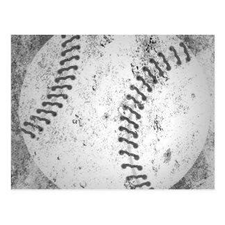Béisbol del Grunge Postal