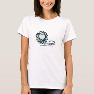 Béisbol del hilado de SKG - camiseta del frente