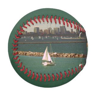 Béisbol del hombre de la foto del velero el mejor