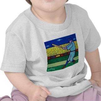 Béisbol del juego por Piliero Camiseta
