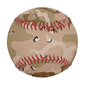Béisbol del modelo del camuflaje de Brown de la
