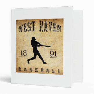 Béisbol del oeste de Connecticut del asilo 1891