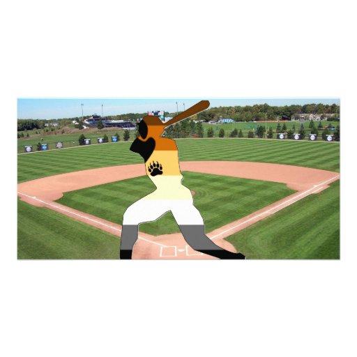 Béisbol del orgullo tarjetas personales