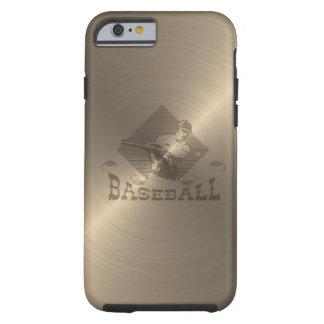 Béisbol del oro funda para iPhone 6 tough