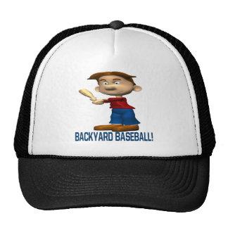 Béisbol del patio trasero gorras de camionero