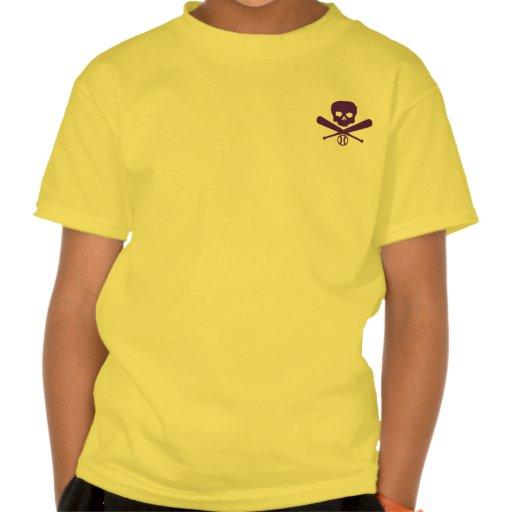 Béisbol del pirata camisetas