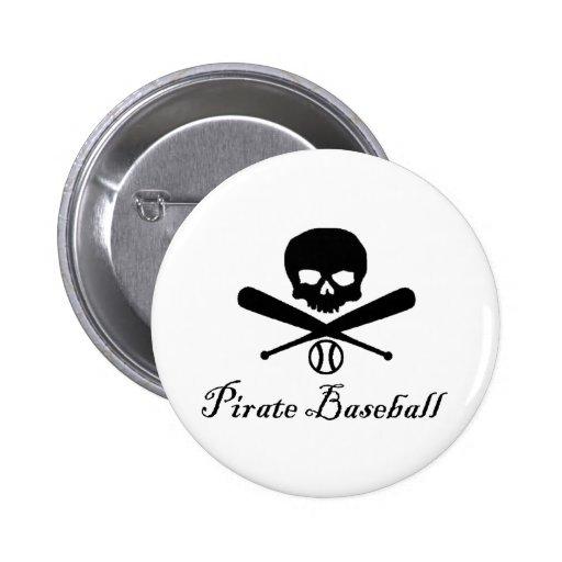Béisbol del pirata pins