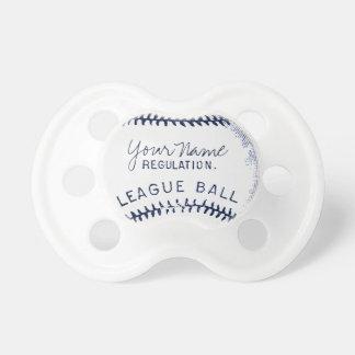 Béisbol del vintage, bola personalizada chupetes