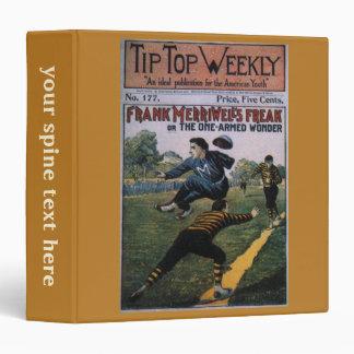 Béisbol del vintage, cubierta de semanario carpeta 3,8 cm