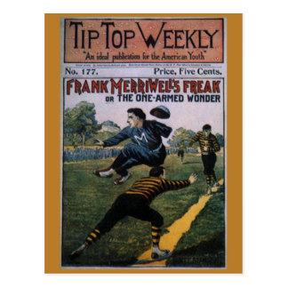 Béisbol del vintage, cubierta de semanario postal