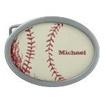 Béisbol del vintage hebillas cinturon