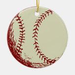 Béisbol del vintage ornamento para reyes magos