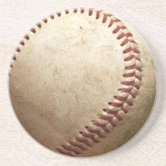 Béisbol del vintage posavasos diseño