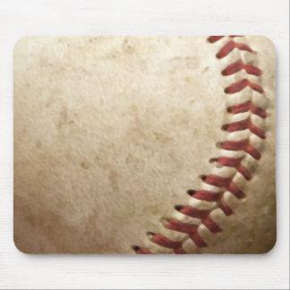 Béisbol del vintage tapetes de ratón