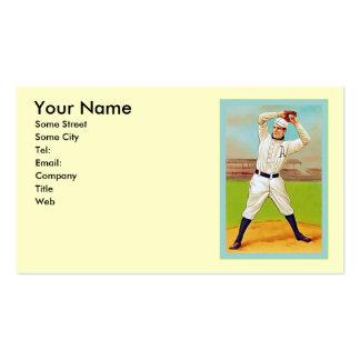Béisbol del vintage tarjetas de visita